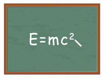 Physics formula Stock Image