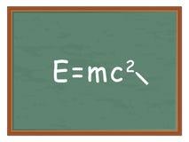 Physics formula Stock Image
