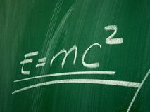 Physics formula Royalty Free Stock Images