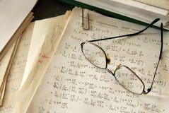 Physics formulas Royalty Free Stock Images