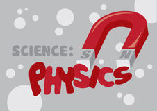 Physics Science Vector Illustration Stock Image