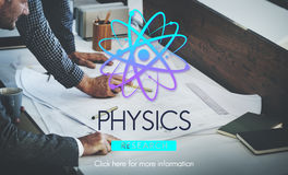Physics Study Science Atom Energy Concept Royalty Free Stock Photography
