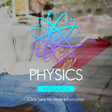 Physics Study Science Atom Energy Concept Royalty Free Stock Photos