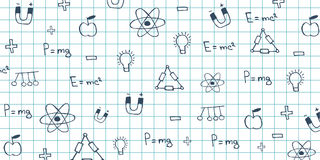 Physics subject. Back to School background. Education banner. Royalty Free Stock Image