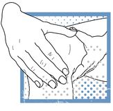Physio Therapy - Helping Hands Royalty Free Stock Photos
