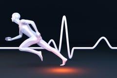 Physiologie-Messen Stockfoto