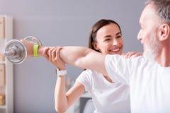Physiothérapie moderne de réadaptation Photo stock