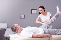 Physiothérapie moderne de réadaptation Photo libre de droits
