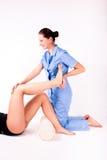 Physiotherapie Stockfoto