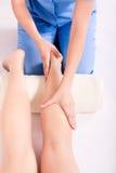 Physiotherapie Lizenzfreies Stockbild
