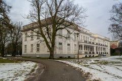 Physiotherapie-Abteilung in der Badekurortstadt von Inowroclaw, Polen 26/01/2018 Lizenzfreie Stockfotografie