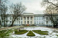 Physiotherapie-Abteilung in der Badekurortstadt von Inowroclaw, Polen 26/01/2018 Stockbilder