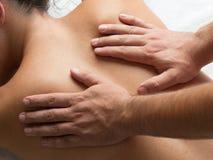 Physiotherapie II Stockbild
