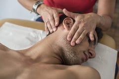 Cervical pain Stock Photos