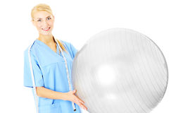 Physiotherapist Stock Photo