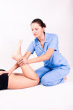 Physiotherapy Royalty Free Stock Photo
