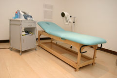 Physiotherapy. Medical room with physiotherapy equipment Stock Photo