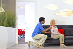 Physiotherapy consult Stock Images