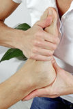 Physiotherapy of the feet Stock Image