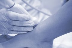 Physiotherapy medical clinic stock images