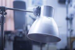 Physiotherapy medical rehabilitation heat lamp Stock Image