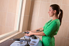 Physiotherapy and treatment Stock Photos