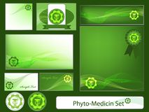 Phyto-medicine set Stock Images