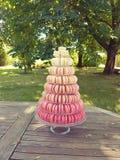 Pièce розовых macaroons Стоковая Фотография
