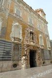 Piękna fasada, Krajowy ceramiki muzeum, Walencja, Hiszpania zdjęcia royalty free