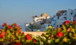 Piękna Santorini wyspa, Grecja obraz stock