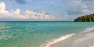 Piękna Tajlandzka plaża zdjęcie stock