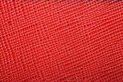 Piękny tło czerwona prawdziwa skóra Zakończenie macros obraz stock