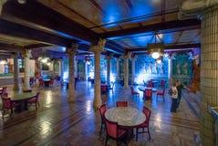 Pièce assyrienne, restaurant à l'intérieur de Rio de Janeiro Municipal Theatre - Rio de Janeiro, Brésil photo stock