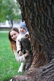 Pièce avec la mère 3 Photos stock