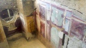 Pièce avec la peinture décorative des Di Napoli de Principe de del de maison photographie stock libre de droits