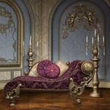 Pièce baroque de palais illustration libre de droits