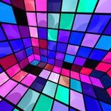 Pièce colorée de réception illustration de vecteur