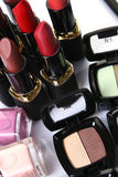 Pièce cosmétique pour la beauté de visage Image stock