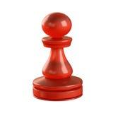 Pièce d'échecs de gage Photographie stock