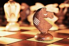 Pièce d'échecs - le chevalier Image libre de droits