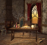 Pièce d'alchimie Photographie stock libre de droits