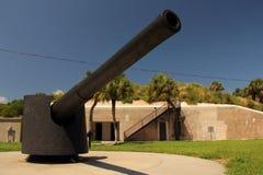 Pièce d'artillerie image libre de droits