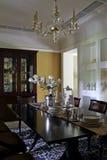 Pièce d'exemple de salle à manger dans l'appartement photos libres de droits