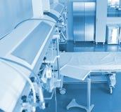 Pièce dans la vue d'hôpital d'en haut Images stock