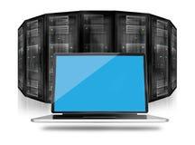 Pièce Datacenter de serveur Photographie stock libre de droits