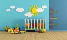 Pièce de bébé Photos libres de droits