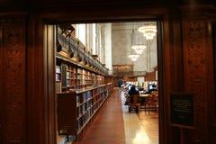 Pièce de bibliothèque Photo stock