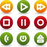 Pièce de bouton Photographie stock libre de droits