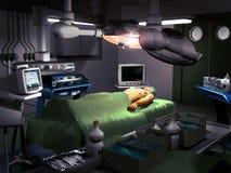 Pièce de chirurgie illustration stock