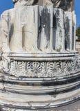 Pièce de colonnes Photo libre de droits